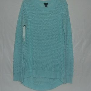 Small Teal Rue21 Sweater